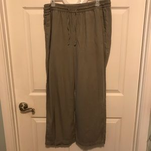 Old navy linen pants large